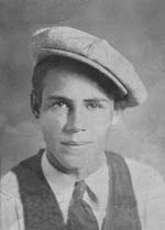 "Barney H. ""Jack"" Collier at 14"
